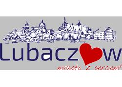 Logotyp Miasta Lubaczów - miasto z sercem, aktywny link do www.lubaczow.pl